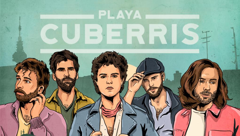 cartel playa cuberris concierto madrid